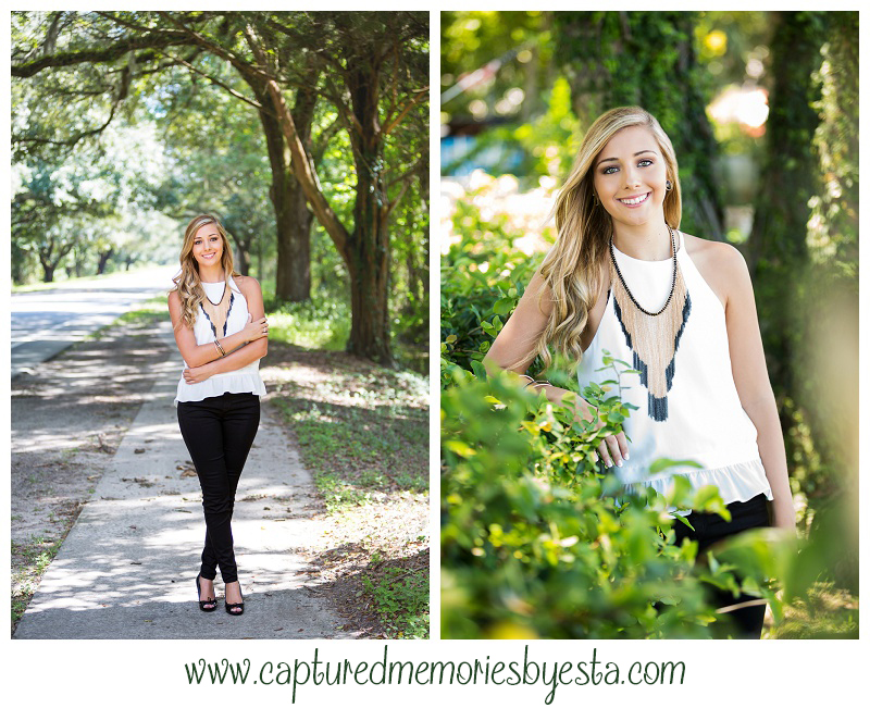 Morgan Senior Pictures Class of 2016 Captured Memories by Esta Photographer Lake City Fl St Augustine_0001