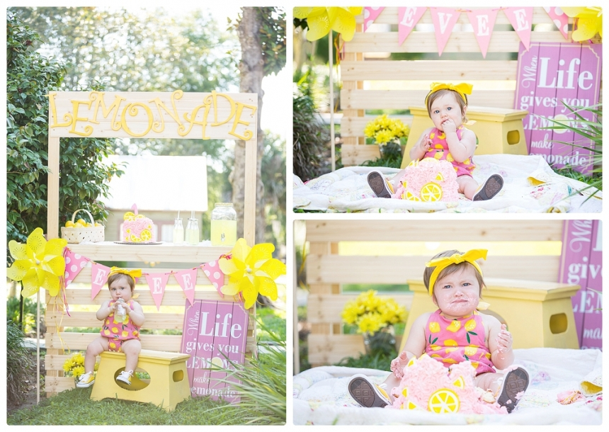 Evees first birthday childcake smash Lake City Gainesville Fl Photography Captured Memories by Esta Photographer Columbia Fl Live Oak Fl North Florida portraits_0011