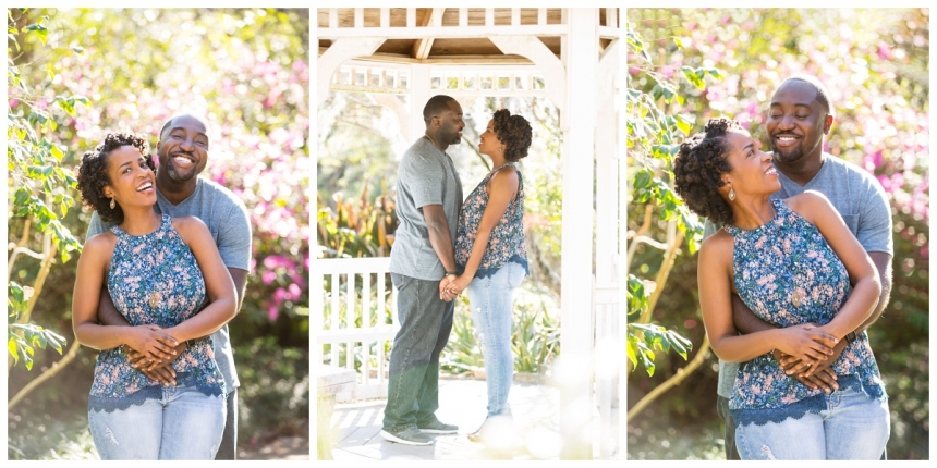 Delano Morgan engagement session Kanapaha Botanical Gardens Lake City Gainesville Fl Photographer Captured Memories by Esta White Springs Fl_0005