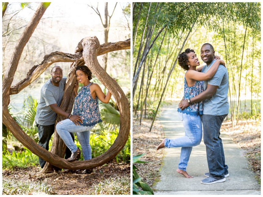 Delano Morgan engagement session Kanapaha Botanical Gardens Lake City Gainesville Fl Photographer Captured Memories by Esta White Springs Fl_0007